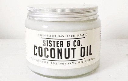 Sister and Co cold pressed coconut oil