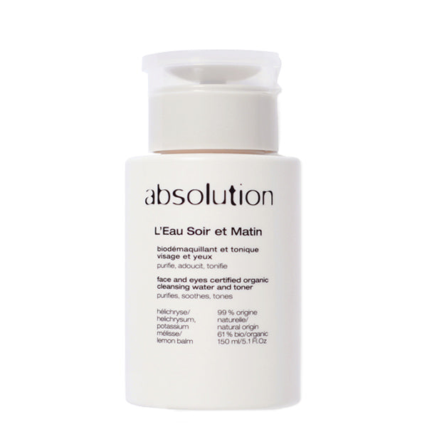 Absolution L'Eau Soir et Matin Cleanser - Content Beauty & Wellbeing