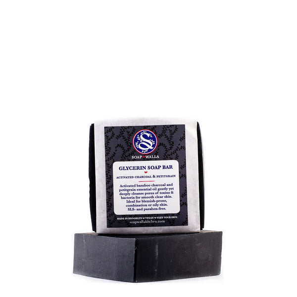 Soapwalla | Activated Charcoal Facial and Body Soap