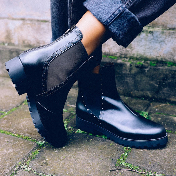 Bhava Chelsea Hiker Boots | Vegan Shoes | UK Stockist