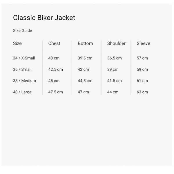 Deadwood Classic Leather sustainable jacket