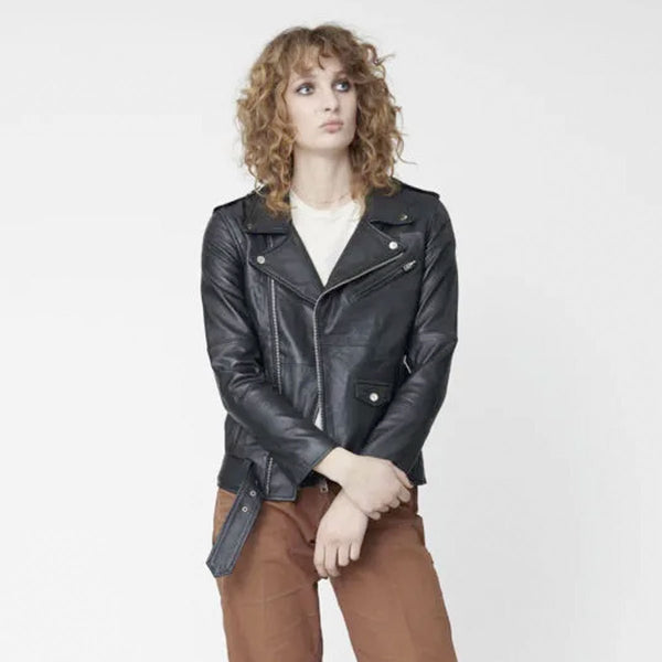 Deadwood Biker Jacket | Sustainable Leather Jacket | Instore & Online