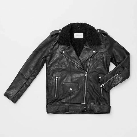 Deadwood Uma Leather Jacket | Sustainable Leather Jacket | Content UK