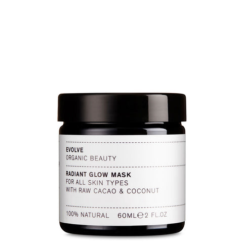 Evolve Radiant Glow Mask Organic Skincare UK