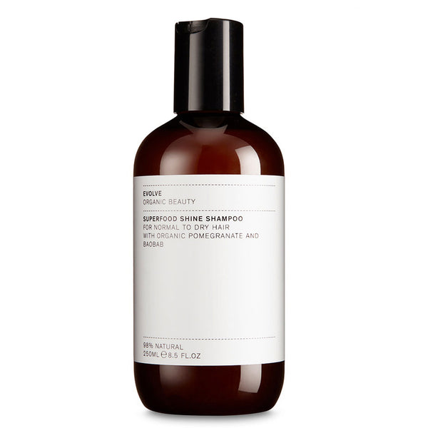 Evolve Superfood Shine Shampoo Natural Haircare UK