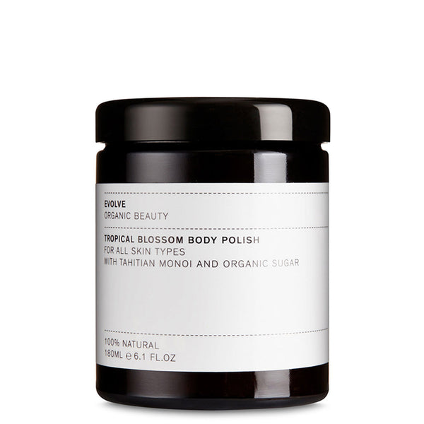 Evolve Tropical Blossom Body Polish | Vegan Body Polish UK | Content