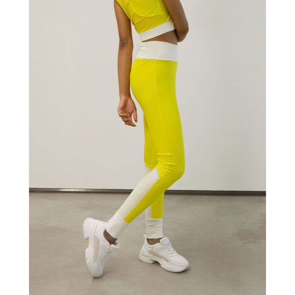 Go As U R High-Waist Tights Yellow | Sustainable Activewear | Instore & Online UK
