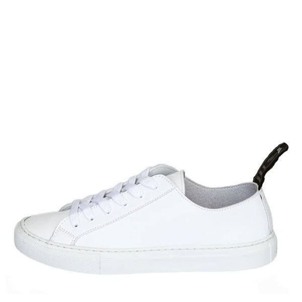 Good Guys Don't Wear Leather Samo White Sneakers - SALE