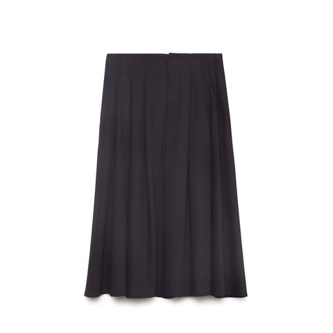 Kowtow Pavilion Black Skirt | Sustainable Clothing at Content UK