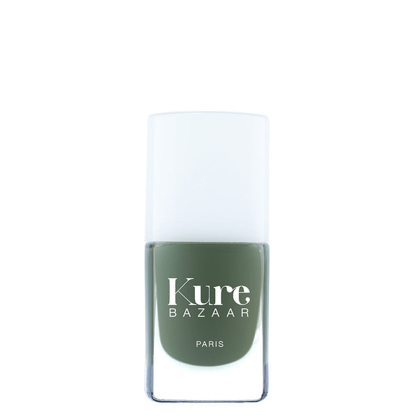 Kure Bazaar Khaki | Natural Nail Polish UK | Content Beauty