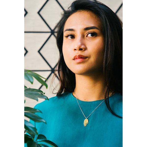Lima Lima Palm Necklace | Sustainable Jewellery | Content UK