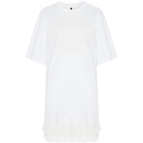 Mother Of Pearl Mackenzie T-Shirt Dress White | Organic Cotton Clothing