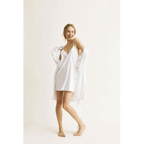 Natural Skin Juliana Robe White