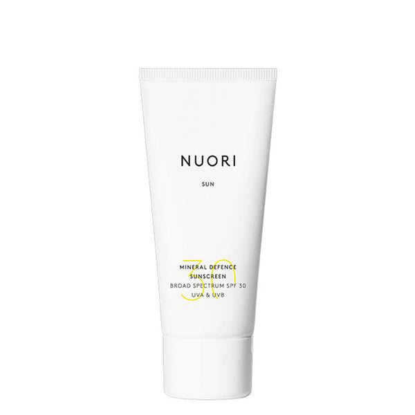 Mineral Defence Sunscreen SPF 30 | Nuori Natural Suncare | Content UK