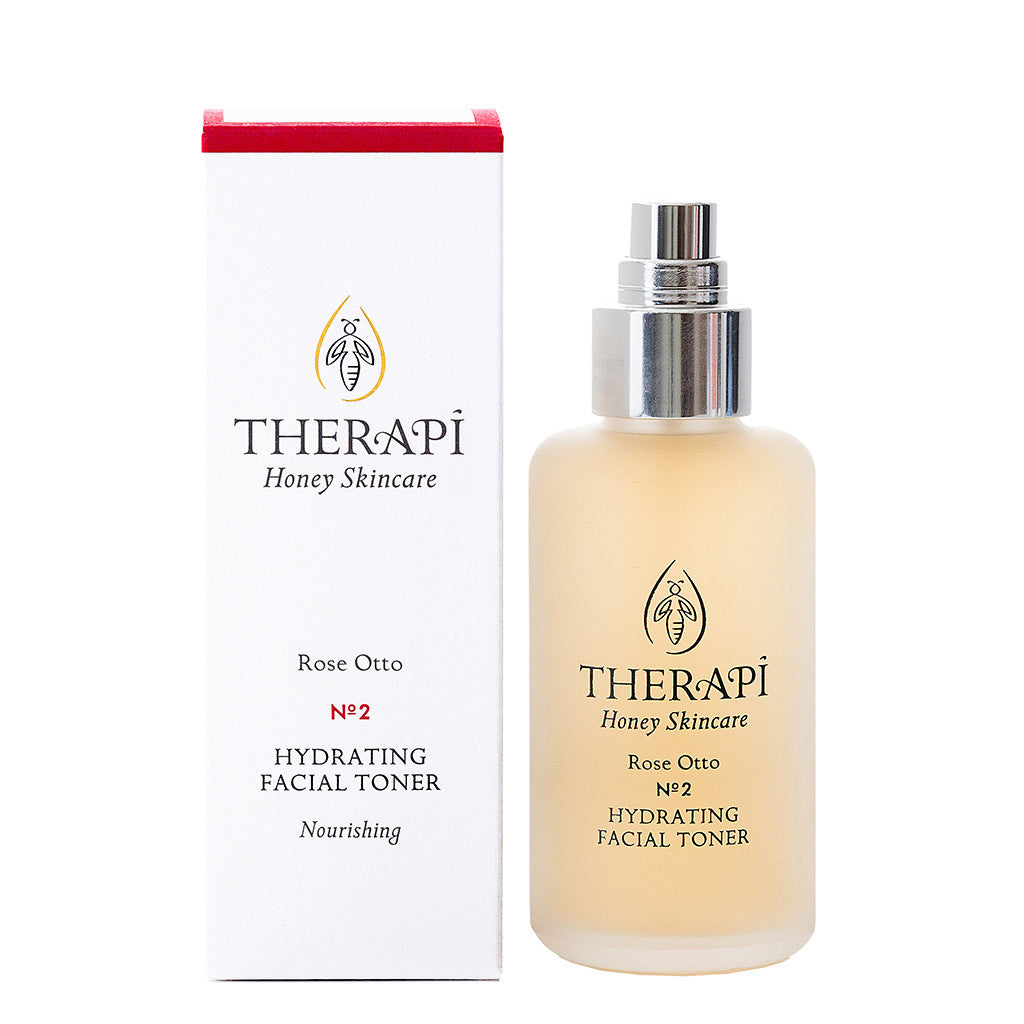 Therapi Rose Otto Hydrating Facial Toner