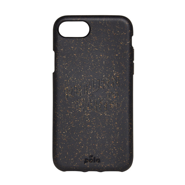 Content x Pela iPhone Case Return to Earth Black | Content Store | Sustainable