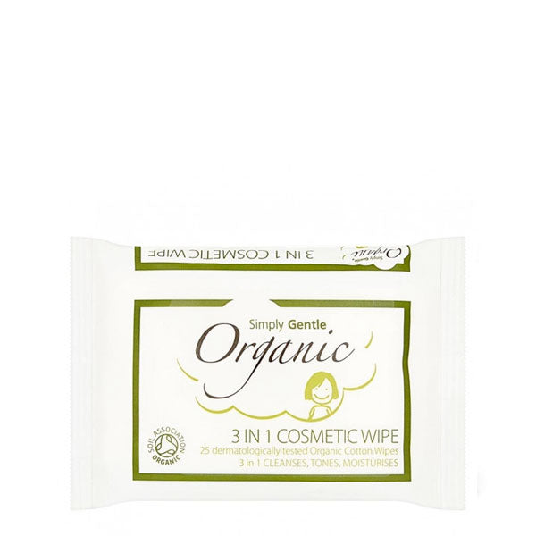 Simply Gentle 3-in-1 Cosmetic Wipes Uk Stockist
