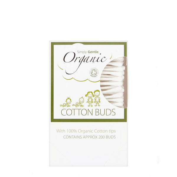 Simply Gentle Organic Cotton Wool Buds | Plastic Free Beauty Products