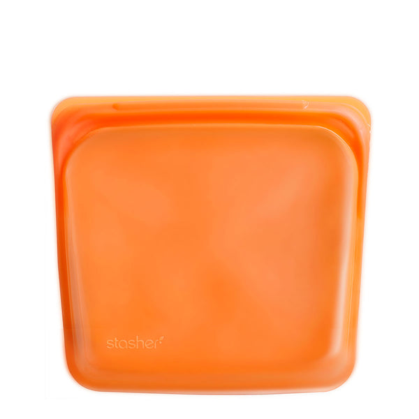 Stasher Reusable Silicone Sandwich Bag Citrus