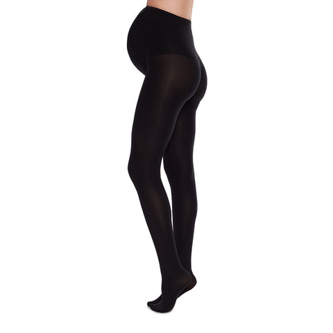 Swedish Stockings Matilda Premium Maternity Tights Black | Sustainable