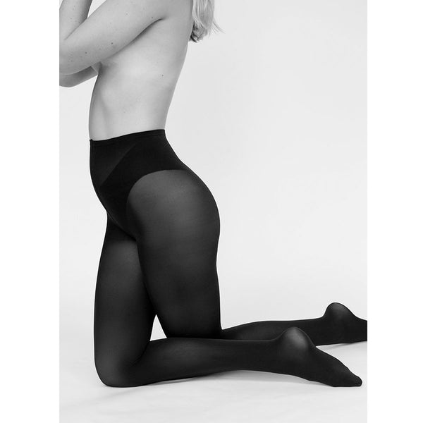 Swedish Stockings Olivia Premium Tights Black | Sustainable Fashion | UK