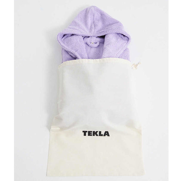 Tekla Organic Cotton Terry Bathrobe Lavender