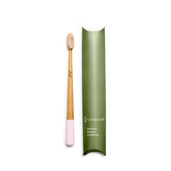 Truthbrush Petal Pink Medium | Sustainable Living | Content Beauty