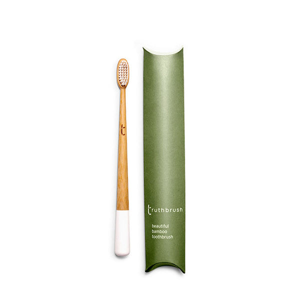 Truthbrush Cloud White Medium | Sustainable Living | Content Beauty
