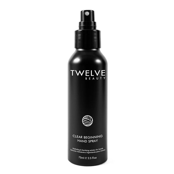 Twelve Clear Beginning Hand Sanitiser Spray | Free Delivery