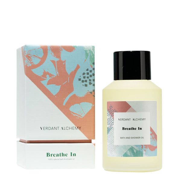 Verdant Alchemy Breathe In Bath and Shower Oil