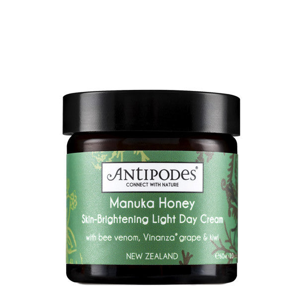 Antipodes Manuka Honey Skin Brightening Light Day Cream UK | Content Beauty | Natural Skincare UK