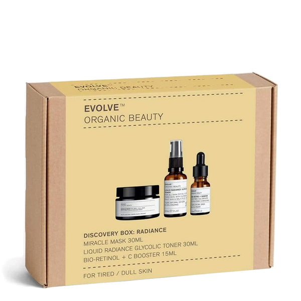 Evolve Discovery Box: Radiance | Vegan Skincare UK