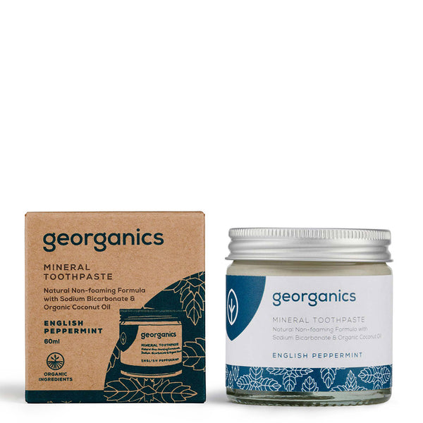 Georganics English Peppermint Toothpaste | UK Stockist