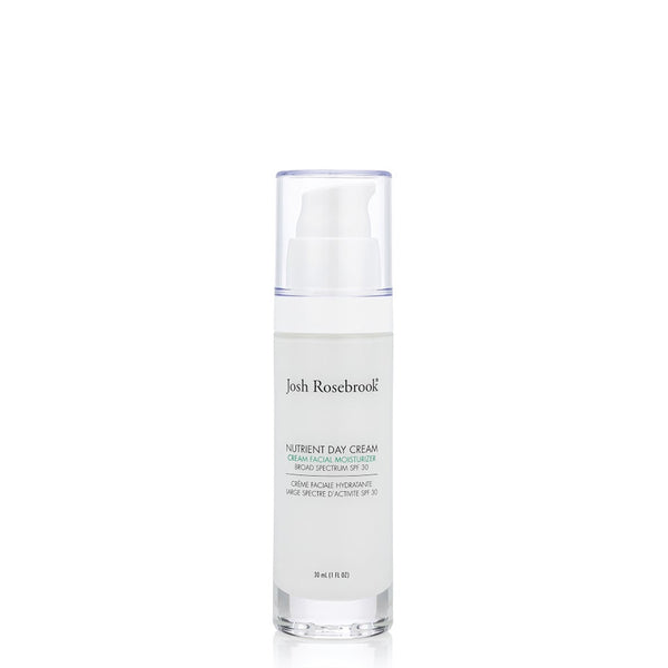 Josh Rosebrook Nutrient Day Cream SPF30 30ml | Natural Skincare UK