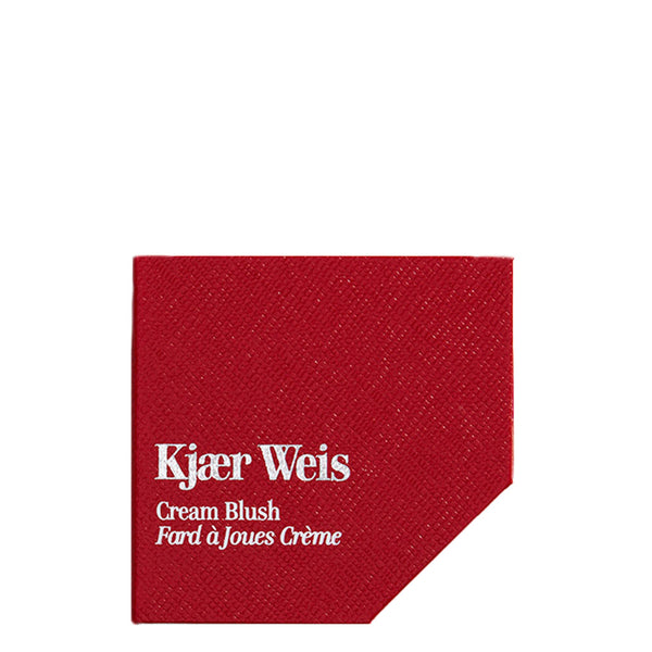 Kjaer Weis Red Edition Cases | Refillable Beauty | Recyclable | Cream Blush