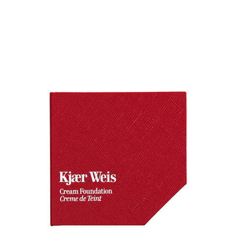 Kjaer Weis Red Edition Cases | Refillable Beauty | Recyclable | Cream Foundation
