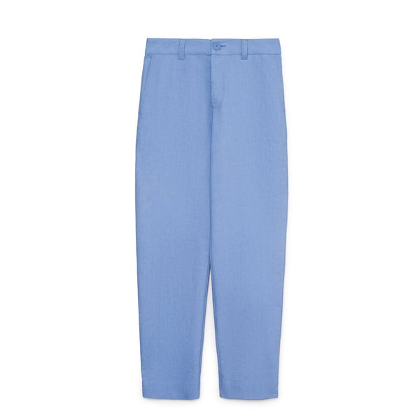 Kowtow Method Pants in Sky Chambray | Sustainable Clothing