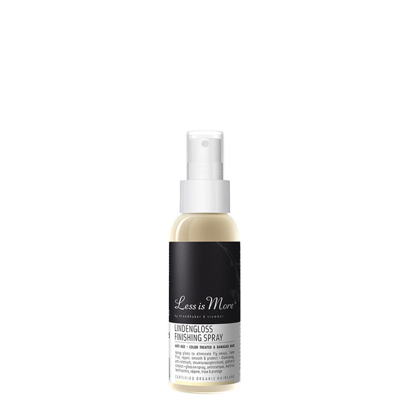 Less is More Lindengloss Finishing Spray Travel Size
