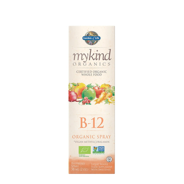 Garden of Life mykind Organics B12 Spray