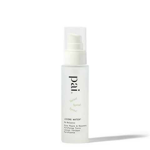 Pai Skincare Living Water Rice Plant & Rosemary Purifying Tonic | Cruelty Free Skincare UK