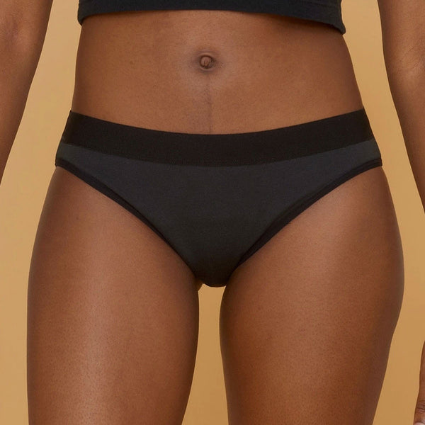 Thinx Certified Organic Cotton Bikini Underwear | Sustainable Period