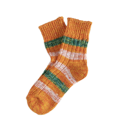 Thunder Socks Island Collection Japanese Orange | Organic Cotton UK