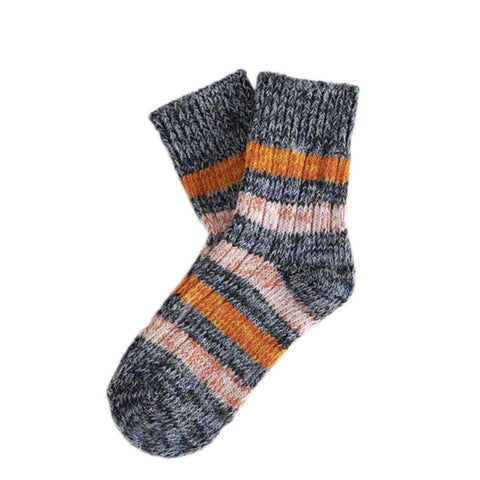 Thunder Socks Island Portland Black | Organic Cotton UK