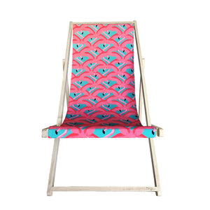 Pink Flamingo Sling Chair