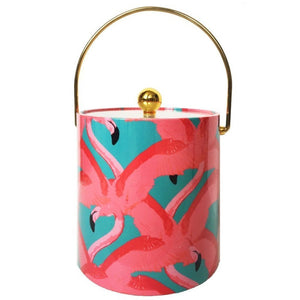 Ice Bucket - Pink Flamingo