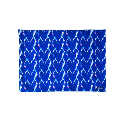 Blue Hosta Leaves Placemats