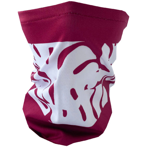 Leaves Mask - Maroon