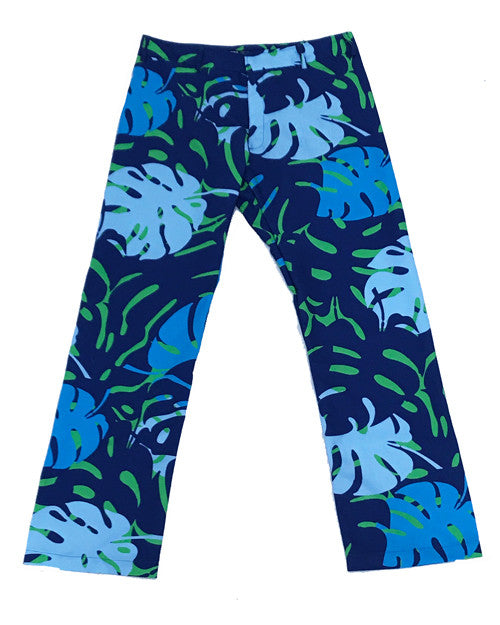 Miami Leaves Green Party Pants