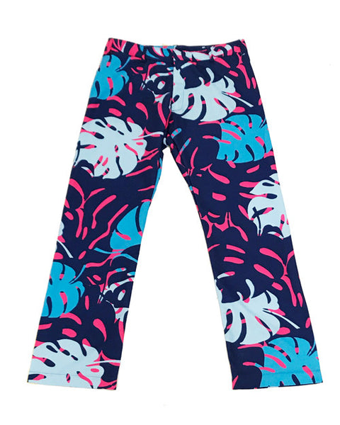 Miami Leaves Pink Party Pants