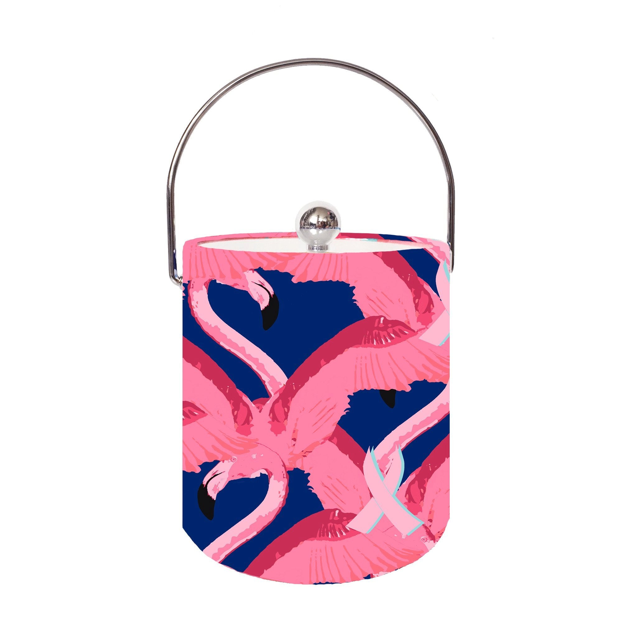 Pink Ribbon Paradise Ice Bucket